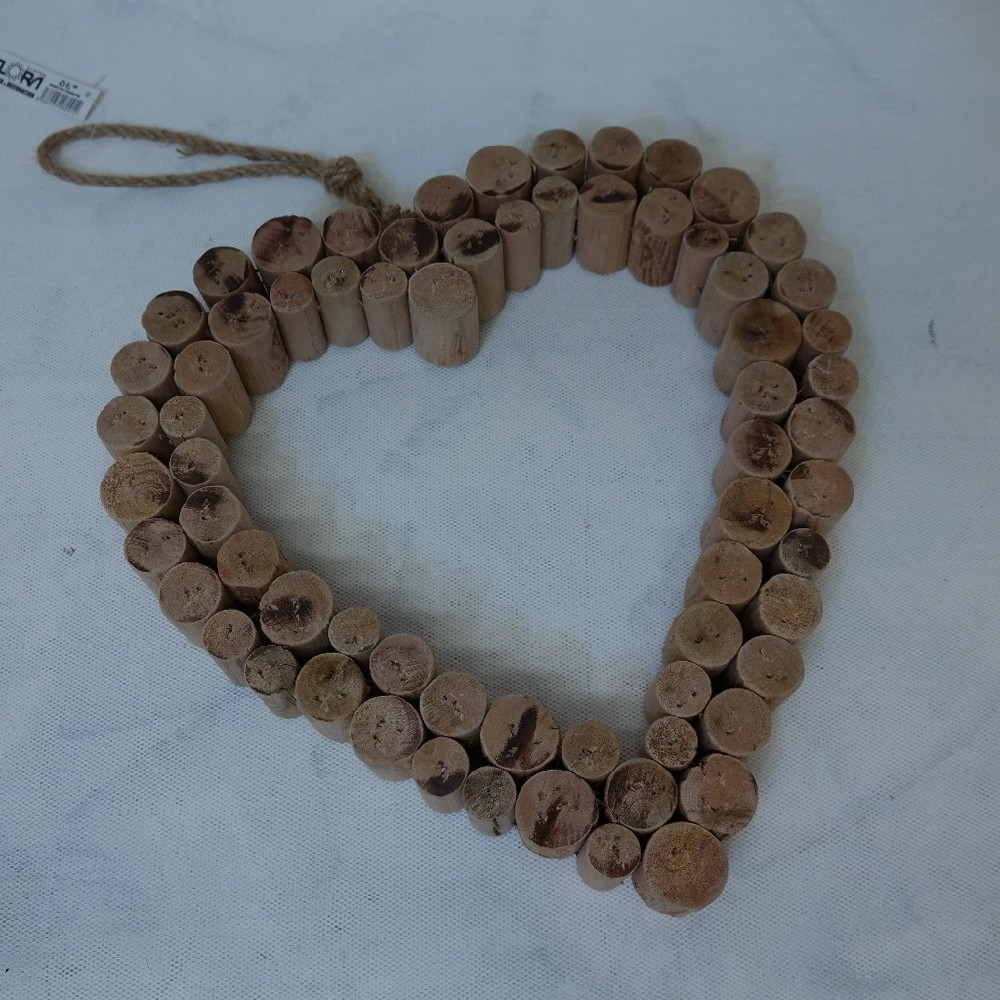 srdce dřevo32cmdeco