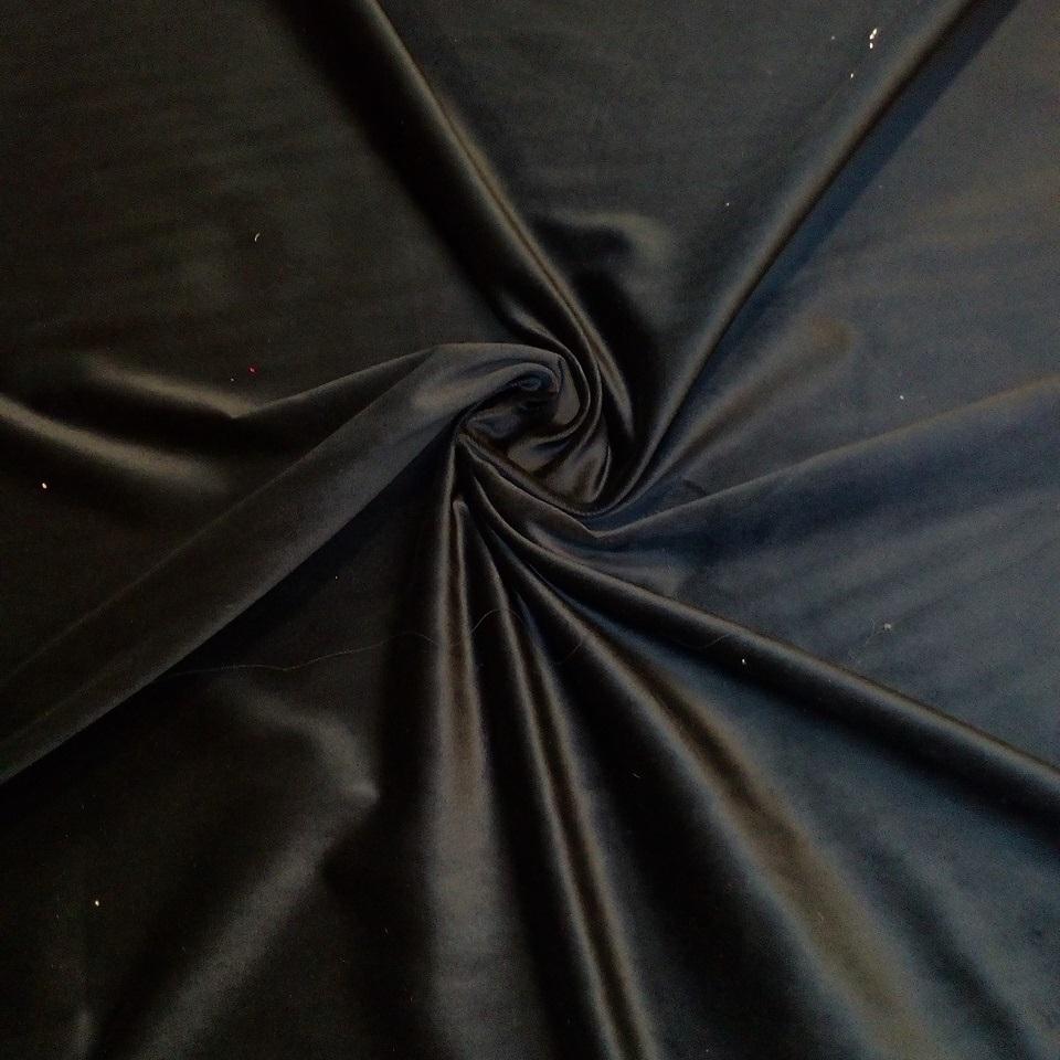 samet černý tenký
