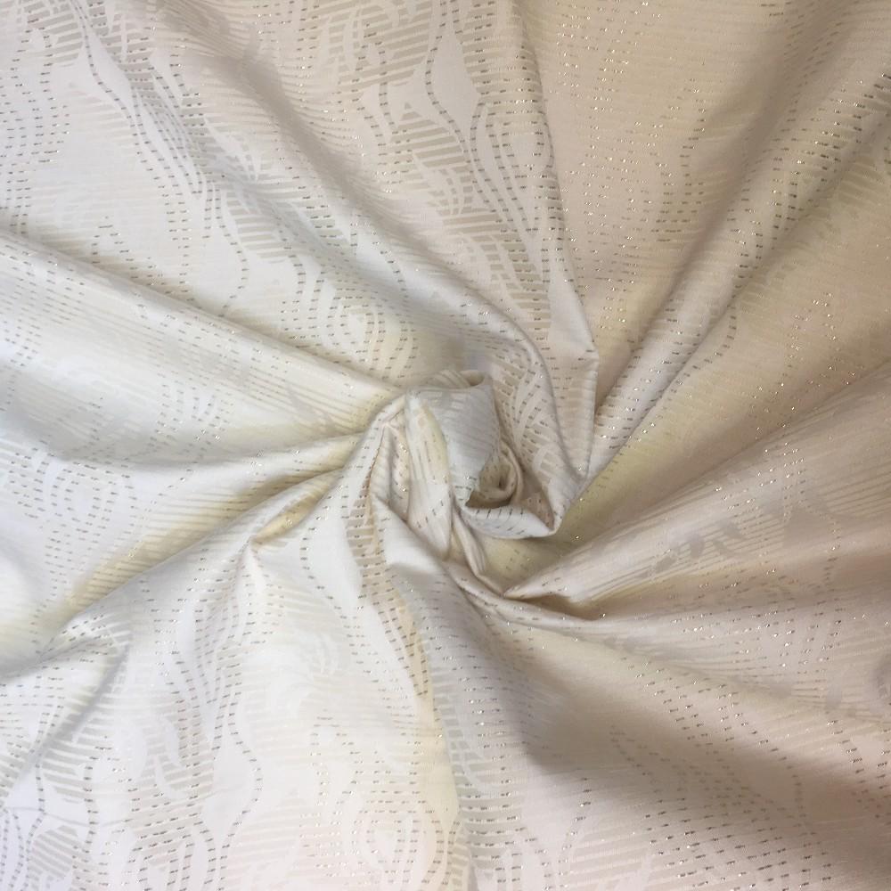 polyester smetana vytlač.vzor