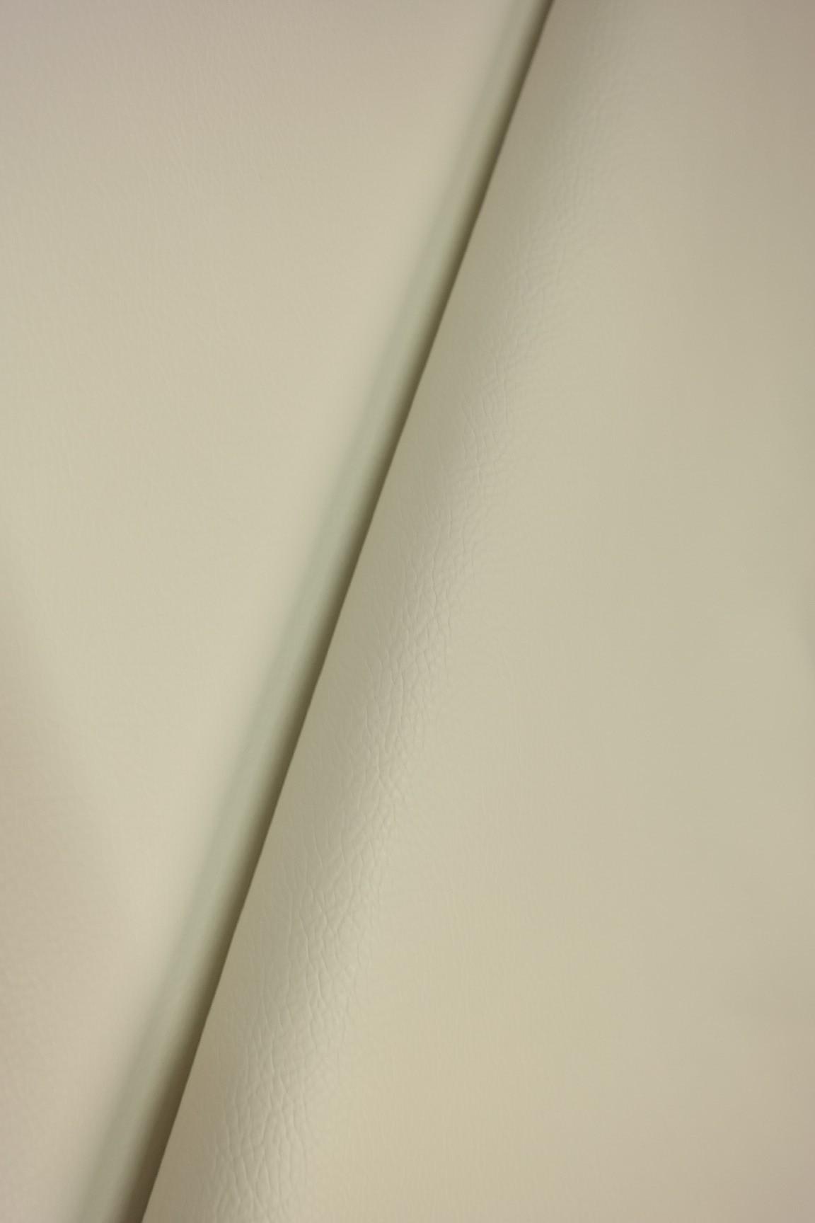 koženka bílá,měkčí -bílý podklad š 145
