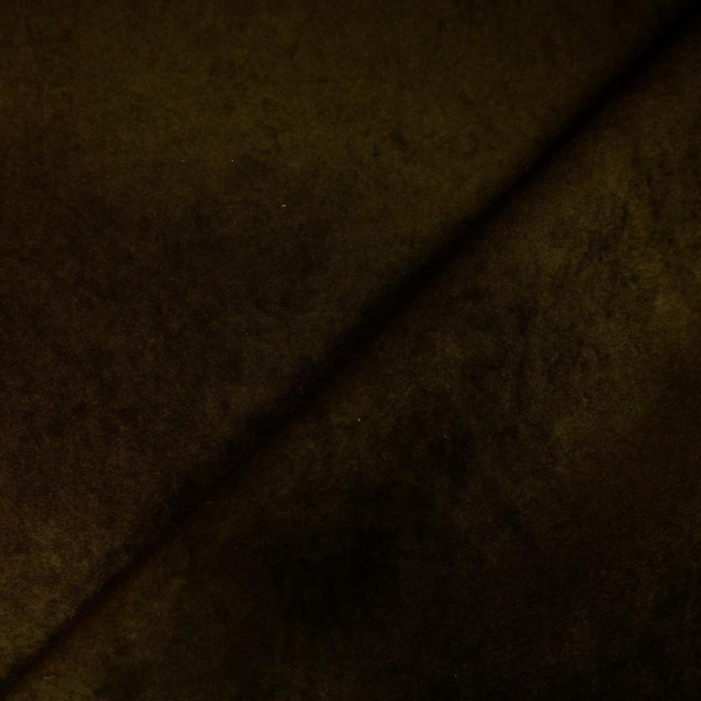 dekorační alcantara hnědá