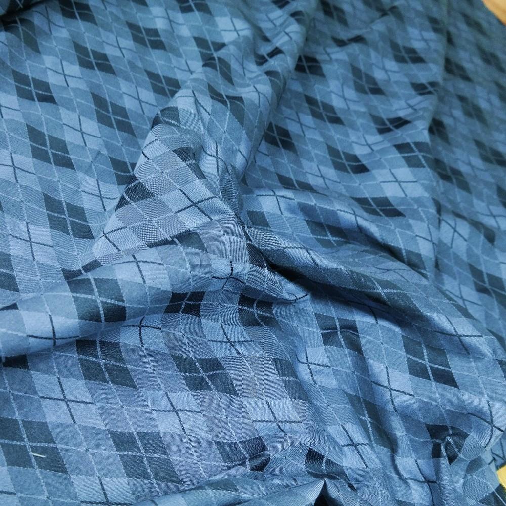 potahovka modrá kosočtverec š.150