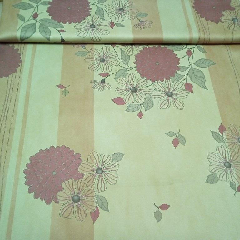 dekoračka H blac out o/žl/čv květy