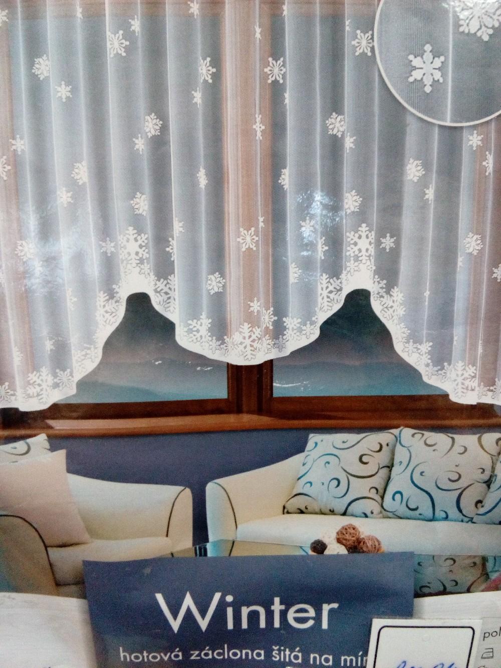 záclona FO Winter 320x150