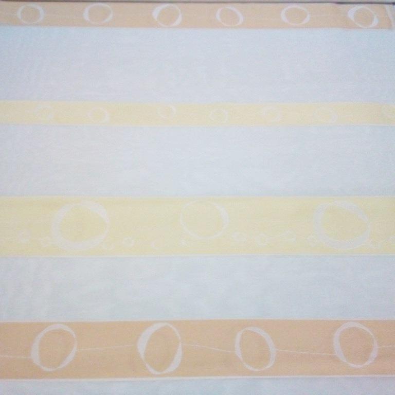 záclona N žl.bílý š.140 1 j.