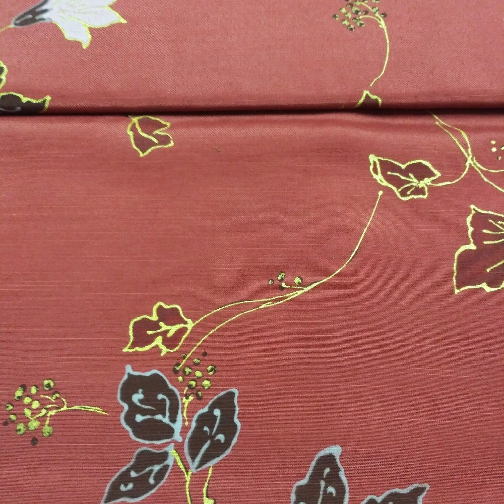 dekoračka bor.růž.vel.květy š.160