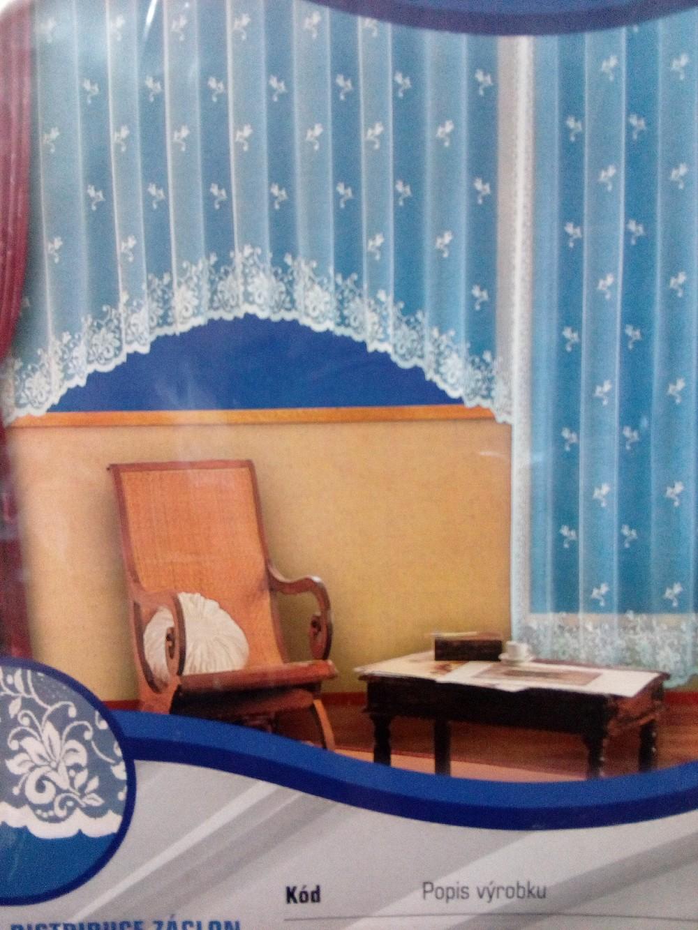 záclona hotová 573/B  300x150