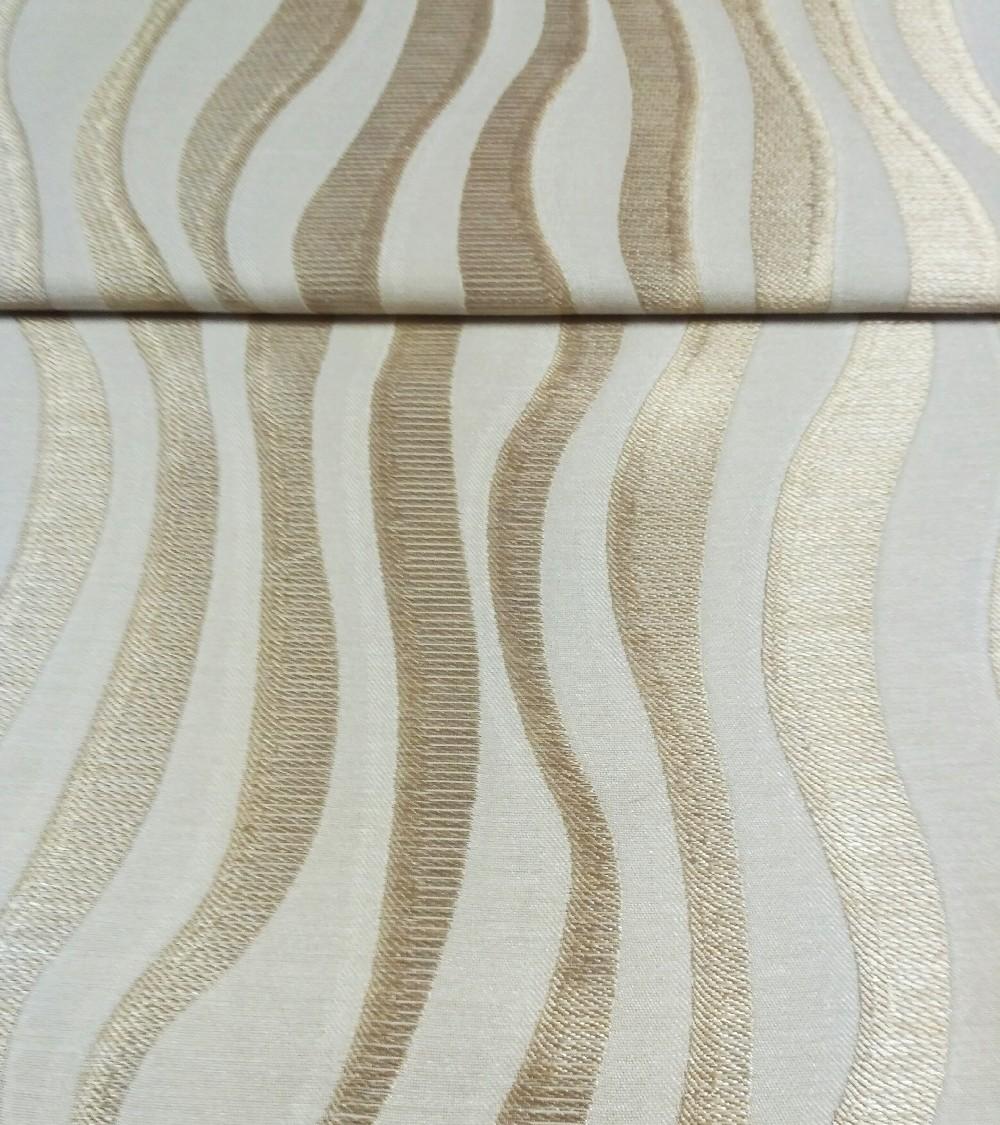 záclona Asmara béžovozlatávlna š.140cm