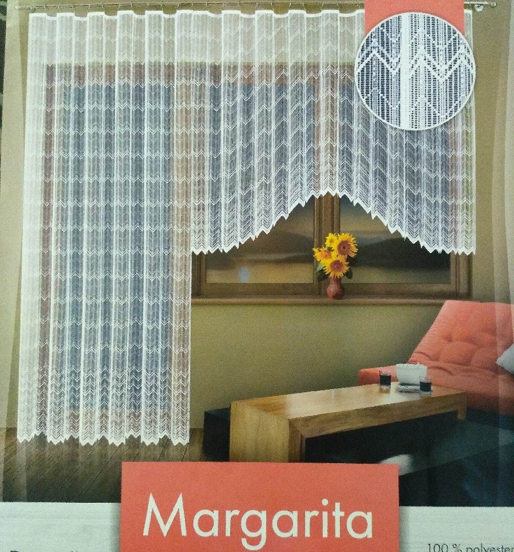 záclona hotová Fo Margarita 350x160/250x