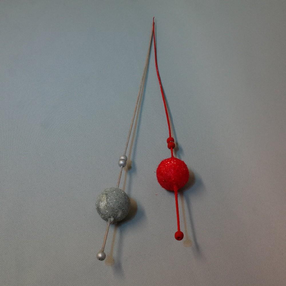 koule s korálky vánoční