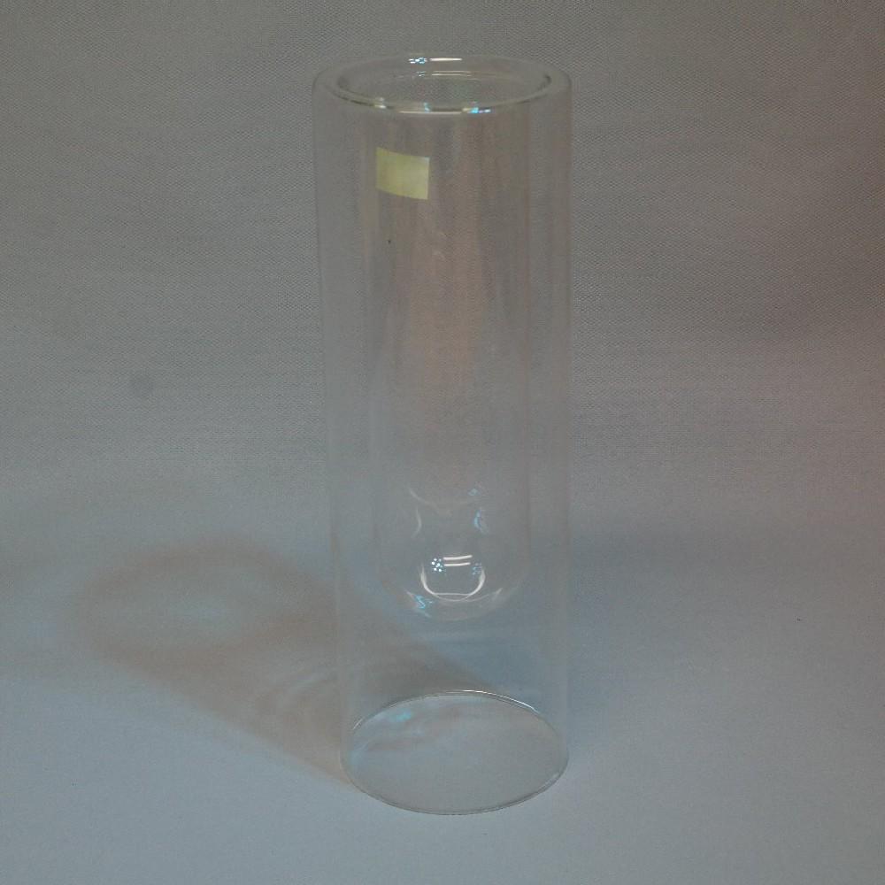 sklo váza dvojitá válec