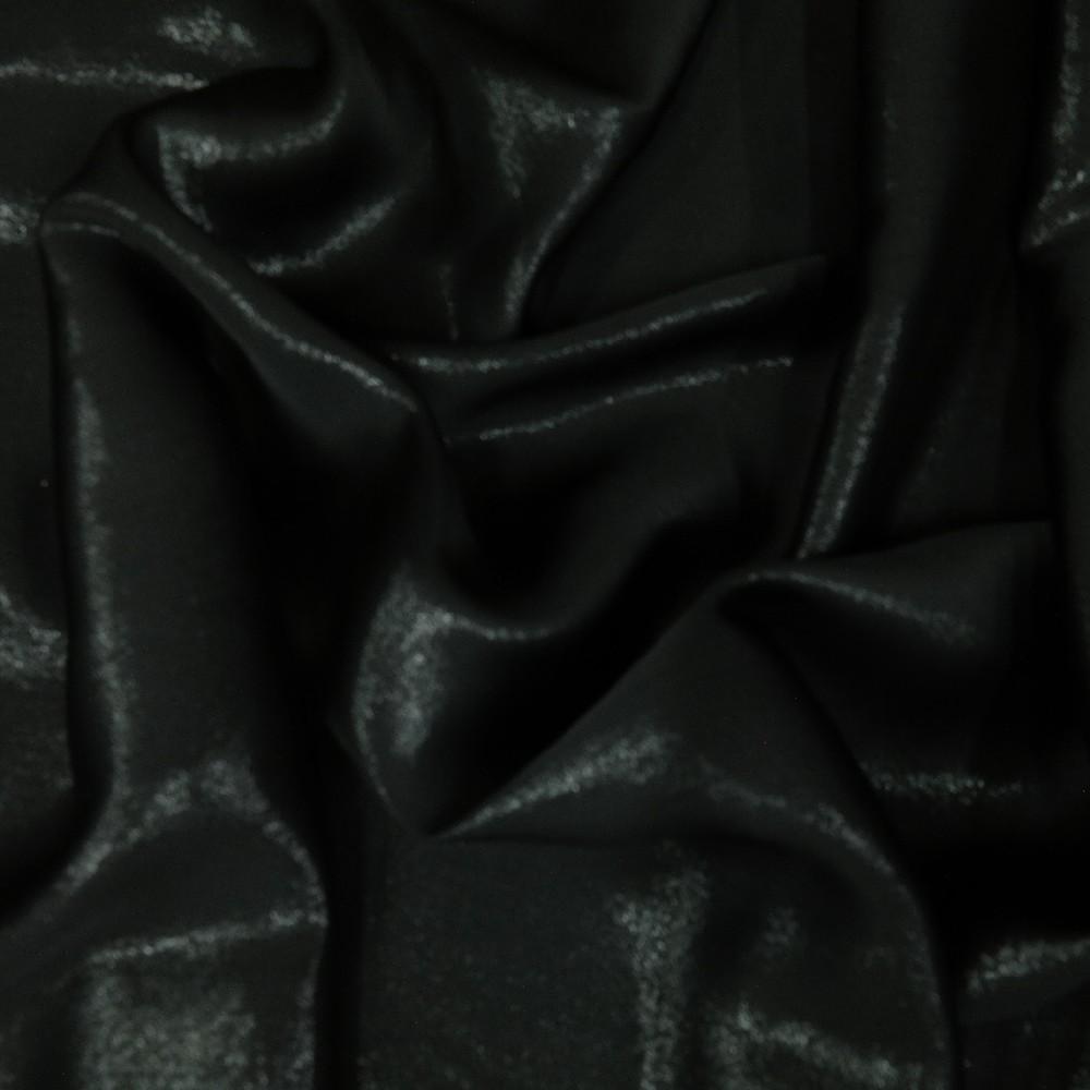 organza metal. černá