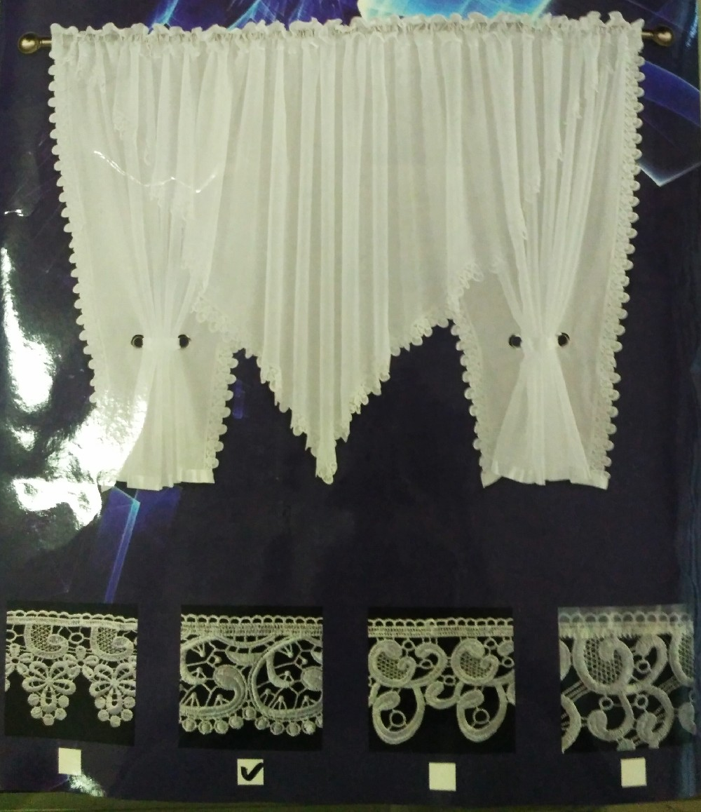 záclona hotová 150*500 krajka