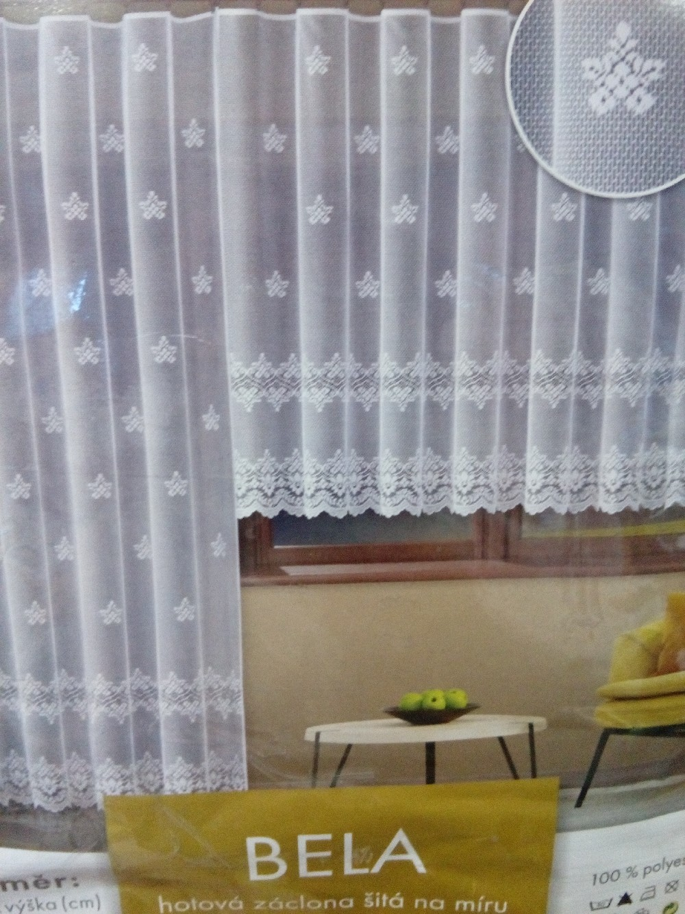 záclona hotová Bela 300x150