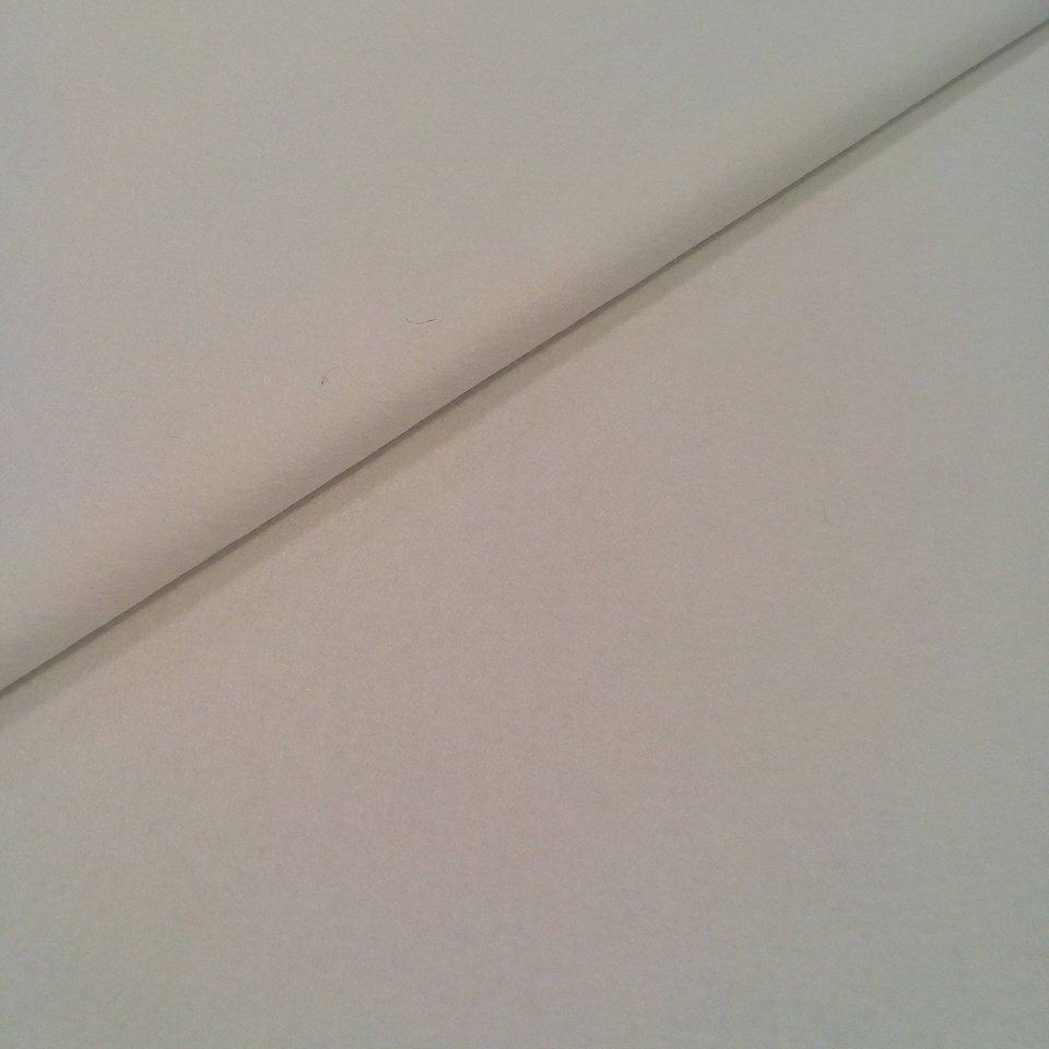 Filc bílý š.180