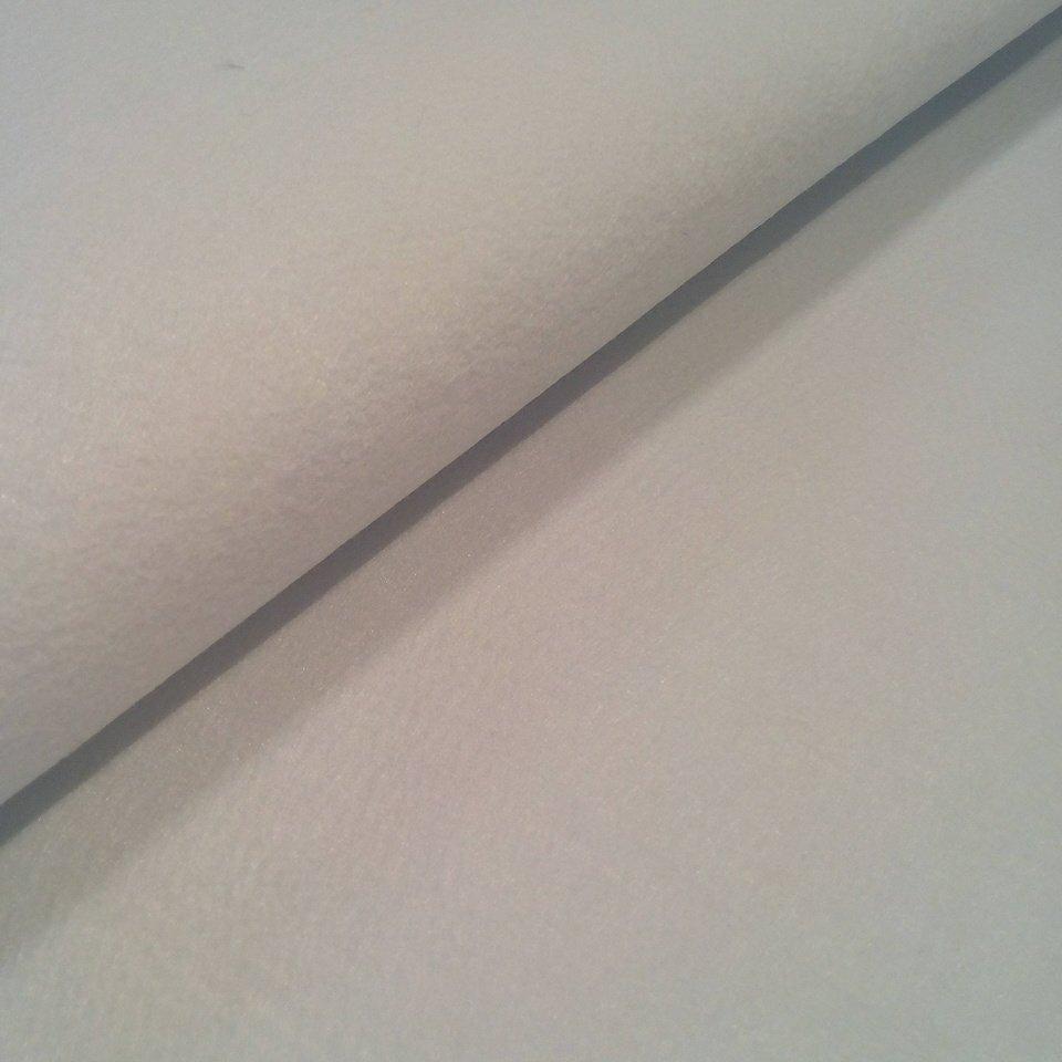 Filc bílý silný 3mm