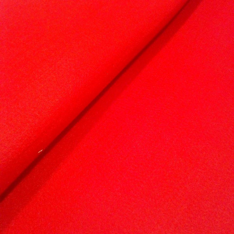 Filc červený silný 3mm