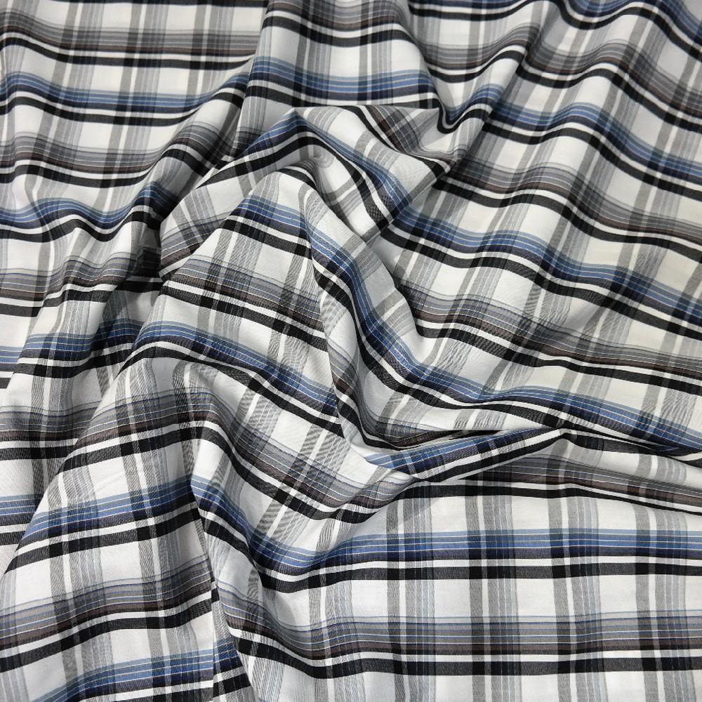 Košilovina modro-černá kostka