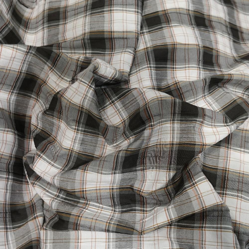 Košilovina kreš béžovočerné kostky