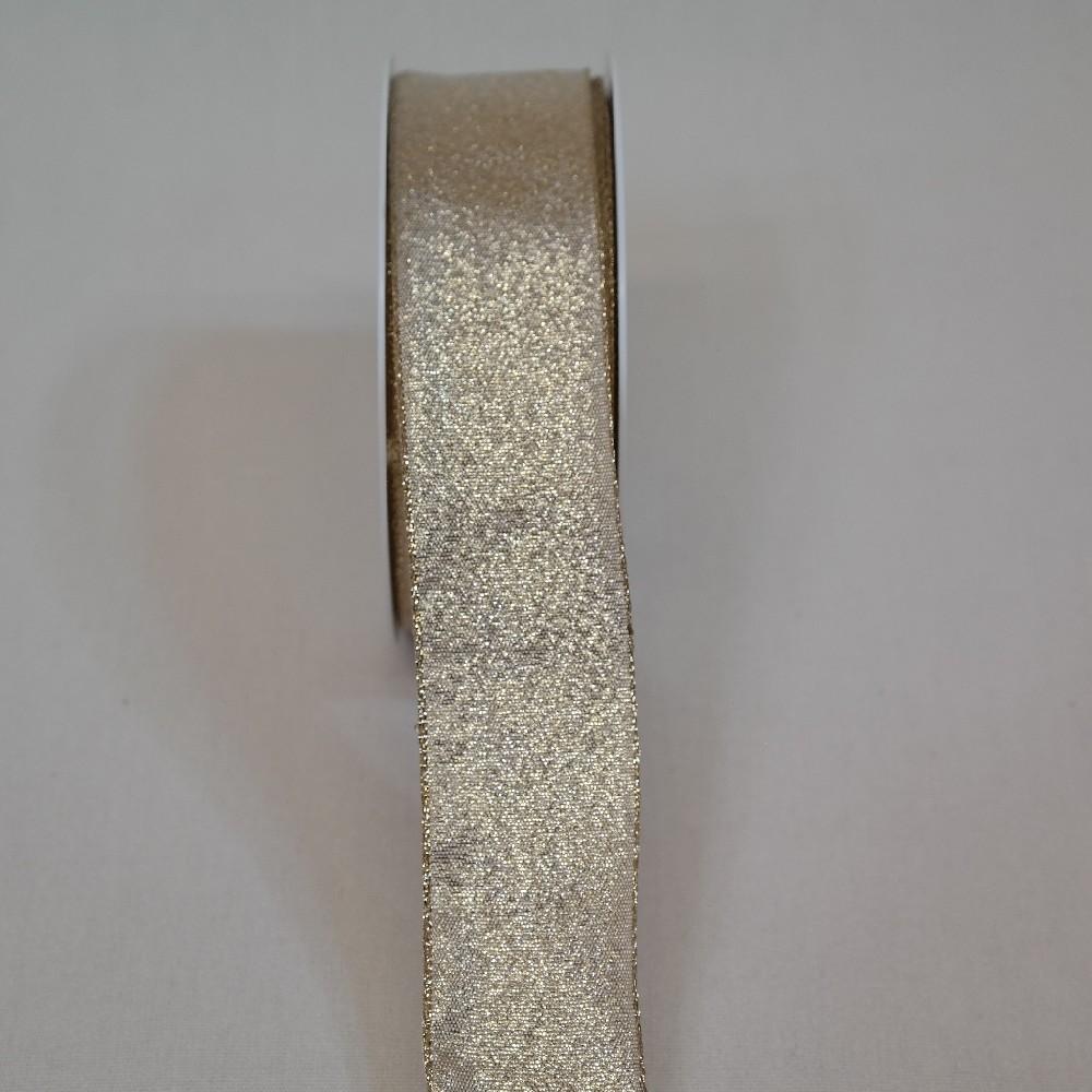 stuha zlatá š.4cm