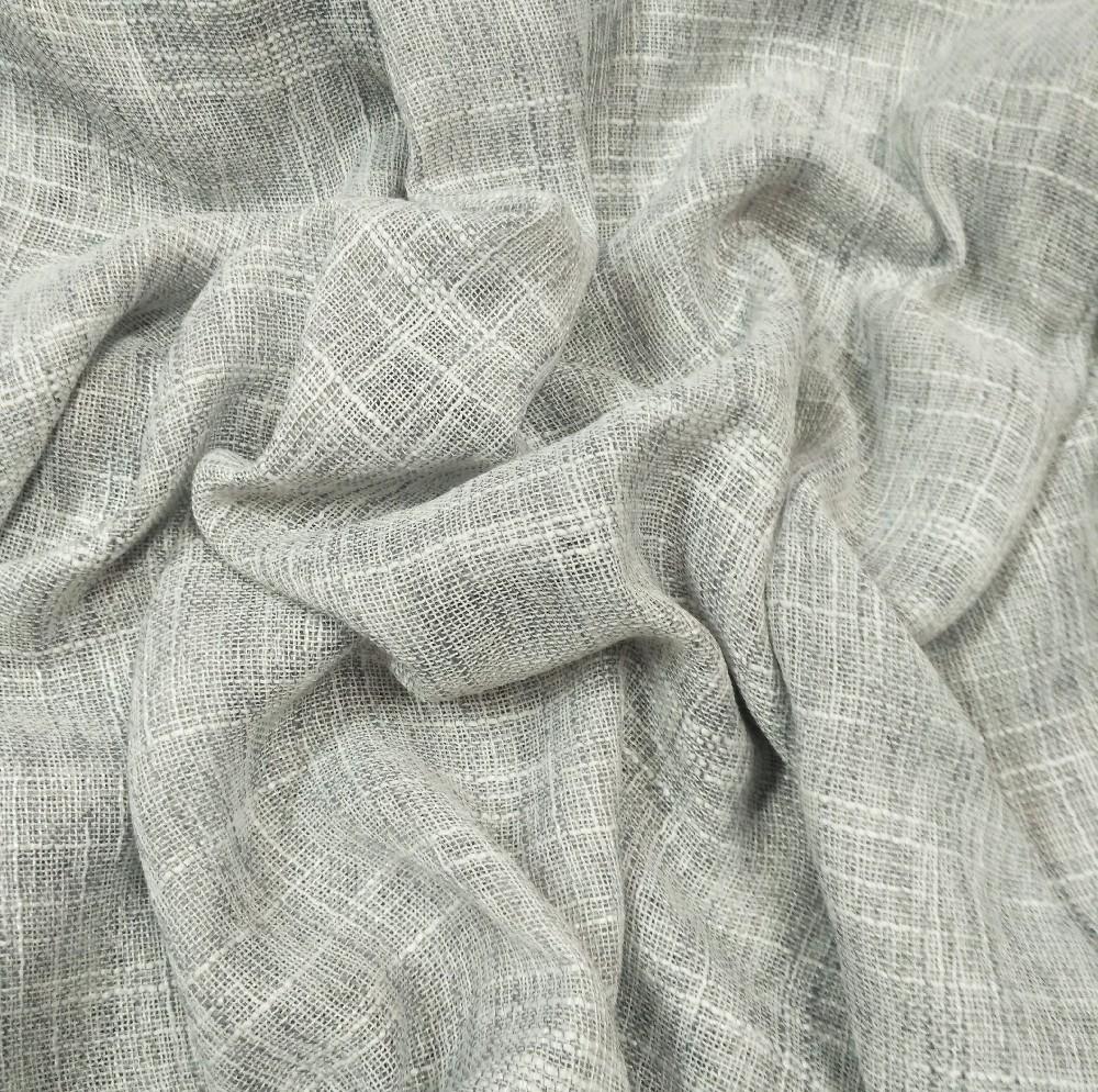 dekor.záclona šedý melír v.160 cm