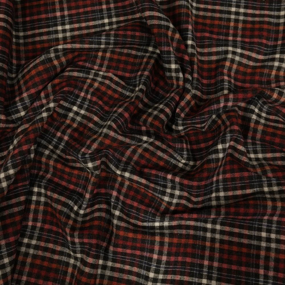 bavlna počesaná č/r/o/č kostička