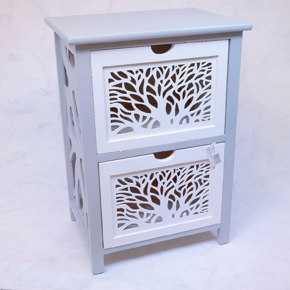 skříňka strom 2 šuplíky