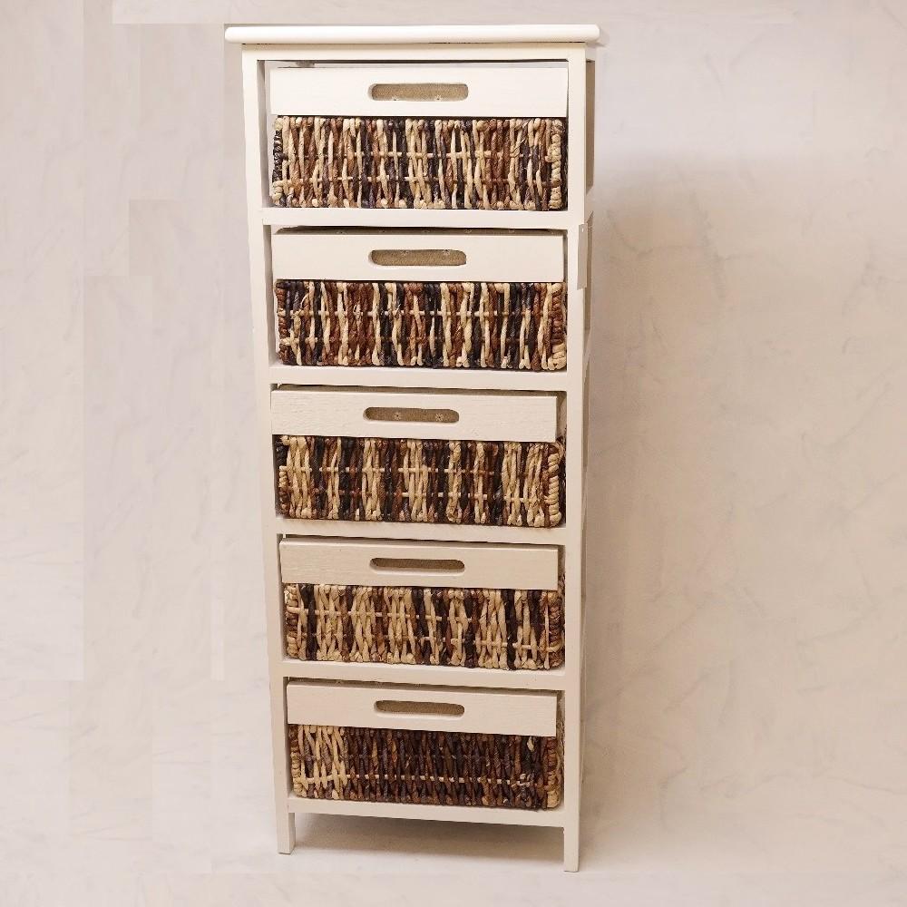 skříňka ratan-rřevo 29x40x98 cm