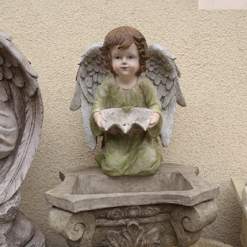 kašna s andělem 40*40x52