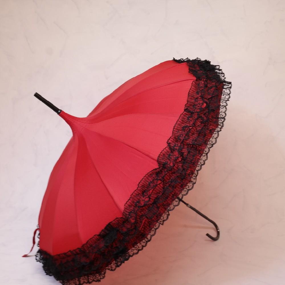 deštník s krajkou