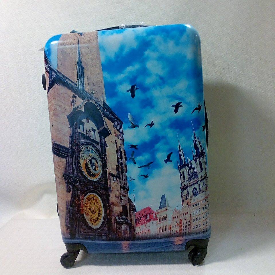 kufr velký plast. kolečka 1250,-