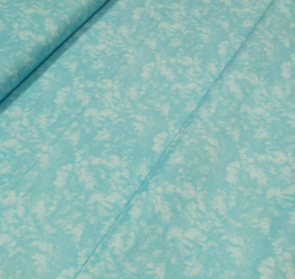 bavlna modrý mramor