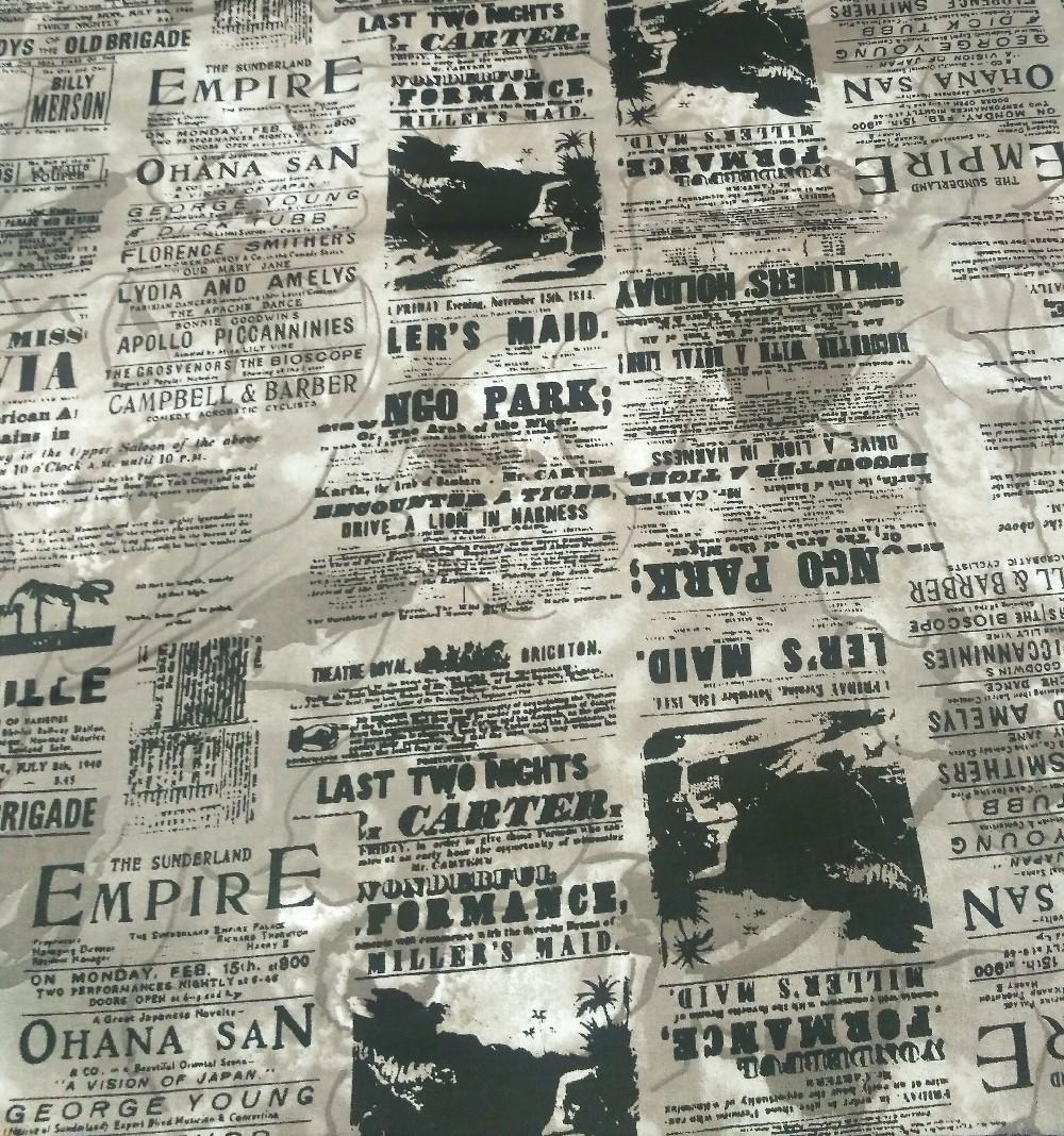 bavlna tisk