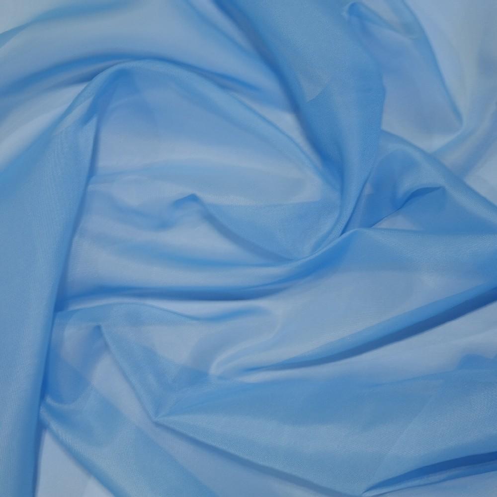 záclona 150 cm voál sv. modrý