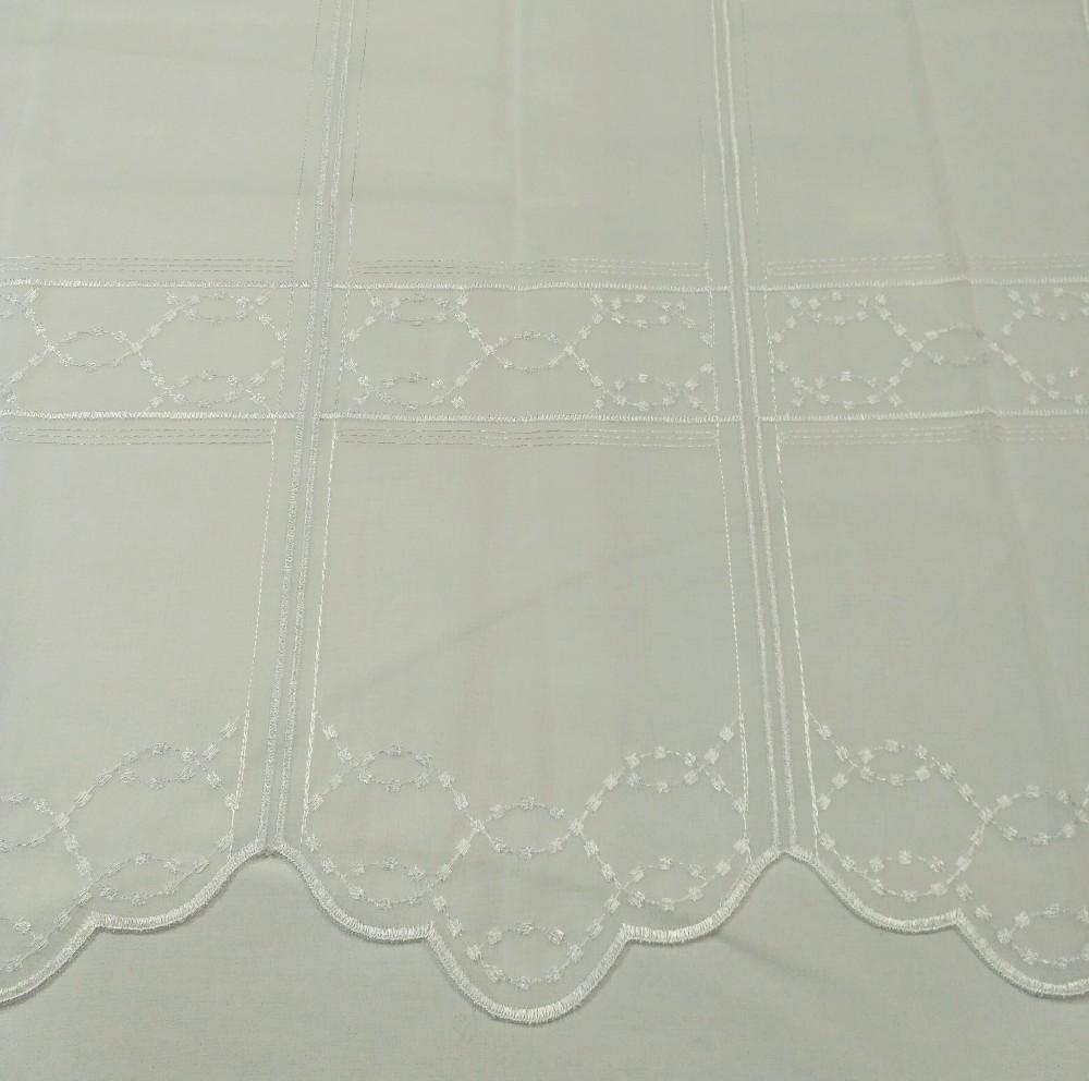 záclona Ve voál  vitrážka 0,60 cm