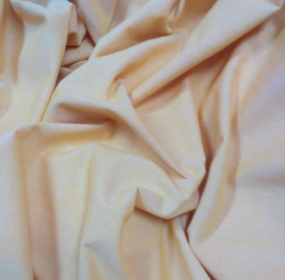 loneta natur žlutá 140 cm
