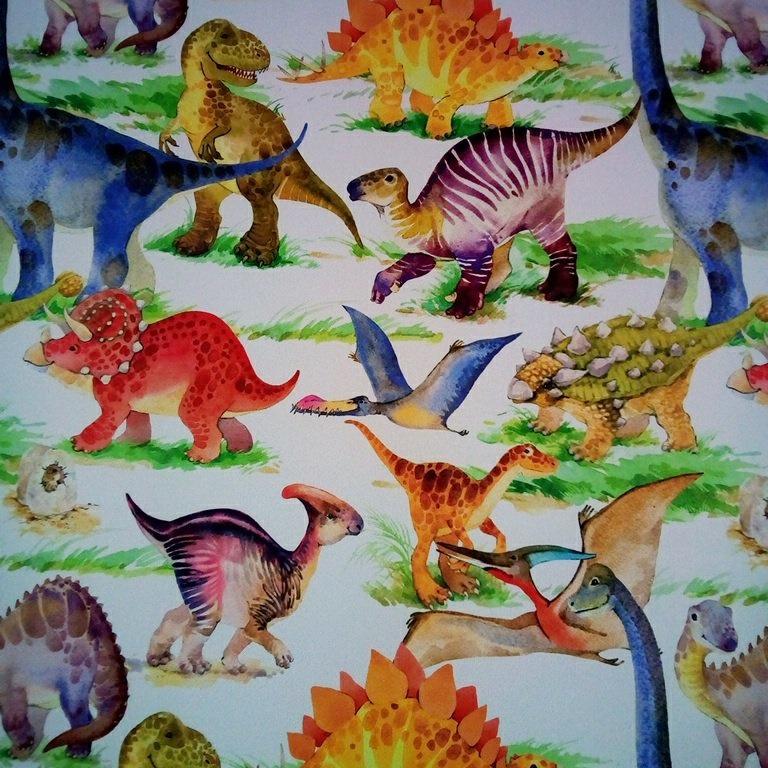 balck out dinosaurus