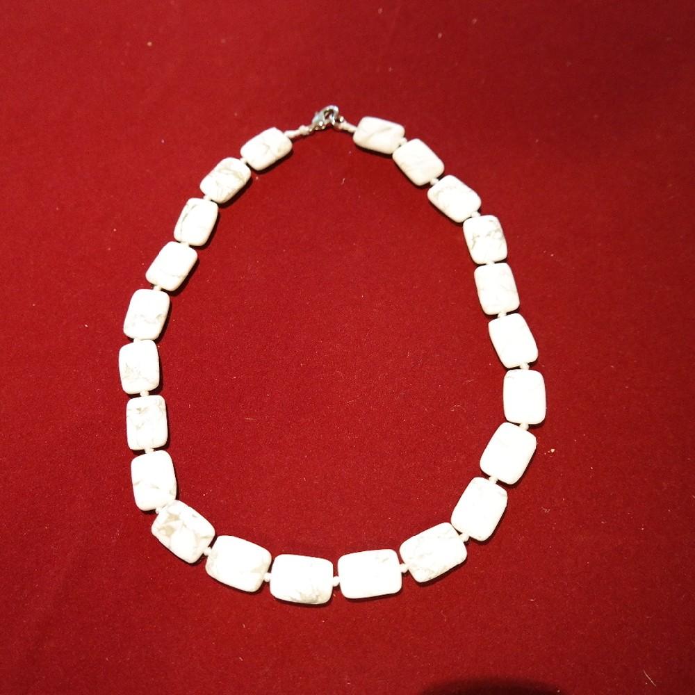 náhrdelník mramor-kameny