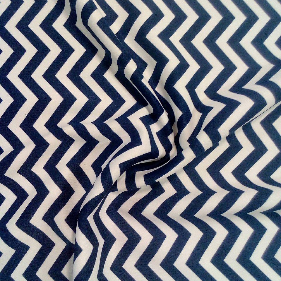 úplet polyester bílo-modrý