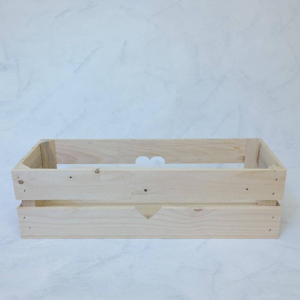 truhlík dřevený 52x13cm