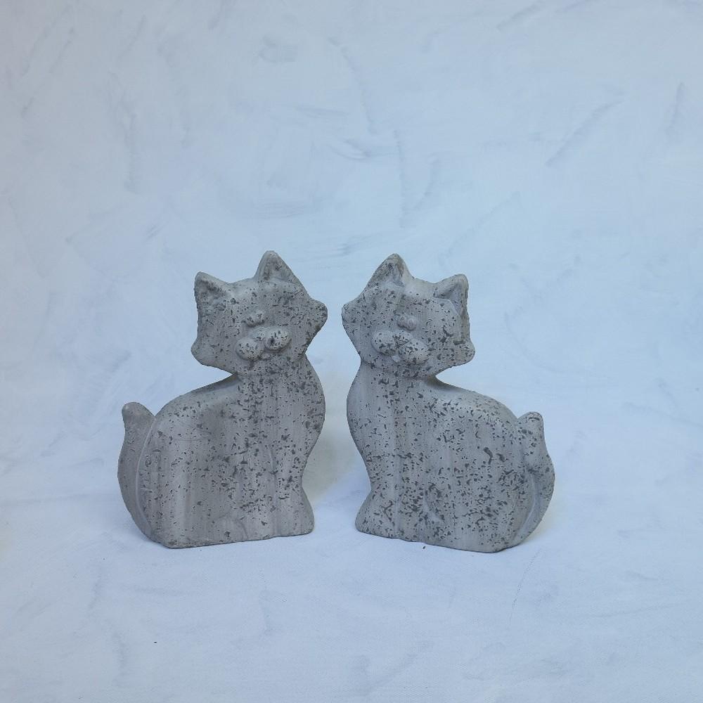 kočka keramic26x17cm