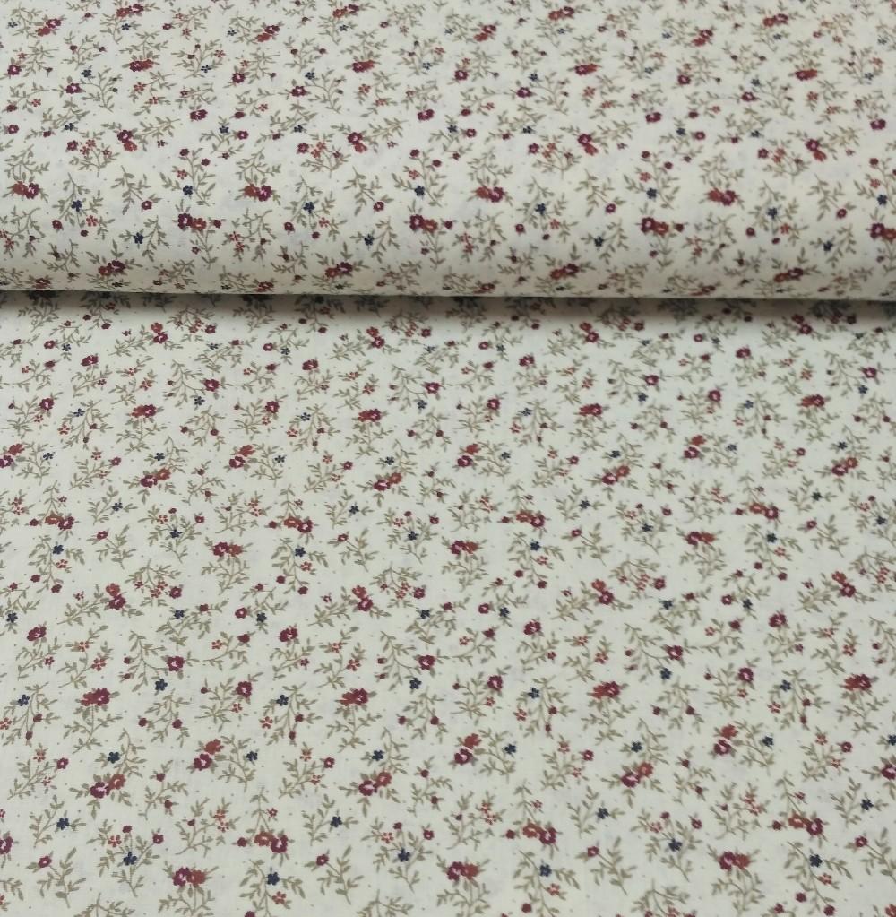 bavlna drobné květy