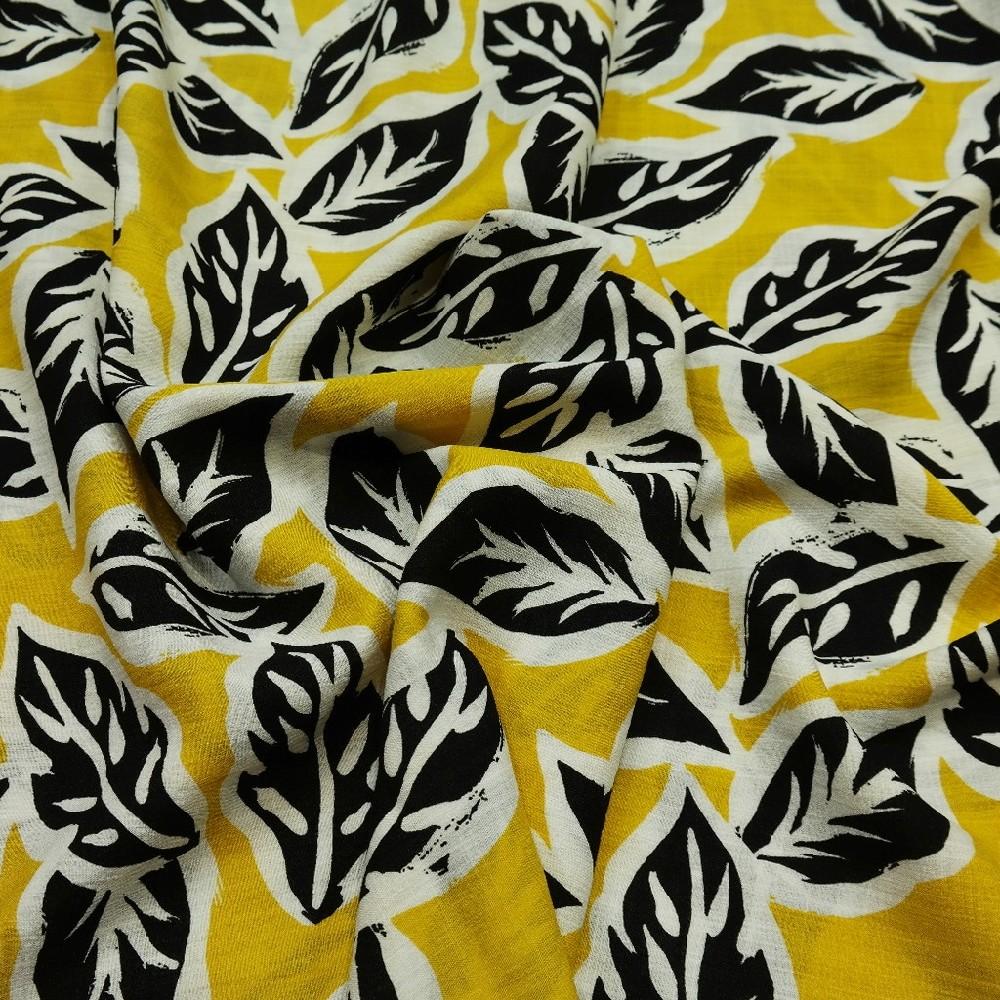 šatovka žluto/černé listy