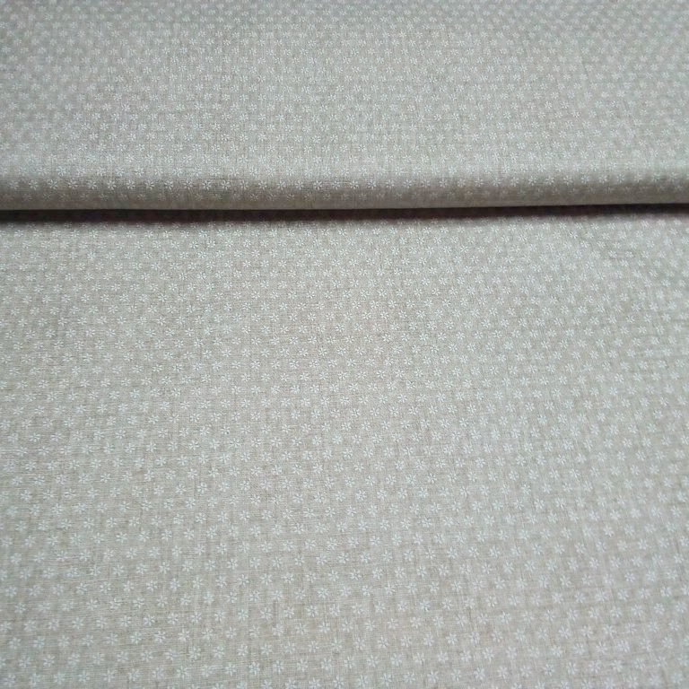bavlna šedivá bílý