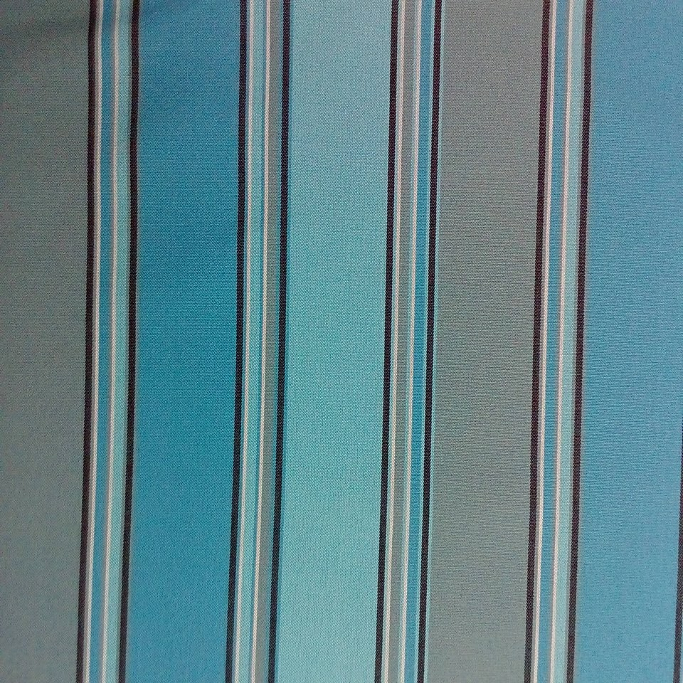 slunečníkovina modrá pruh š.140