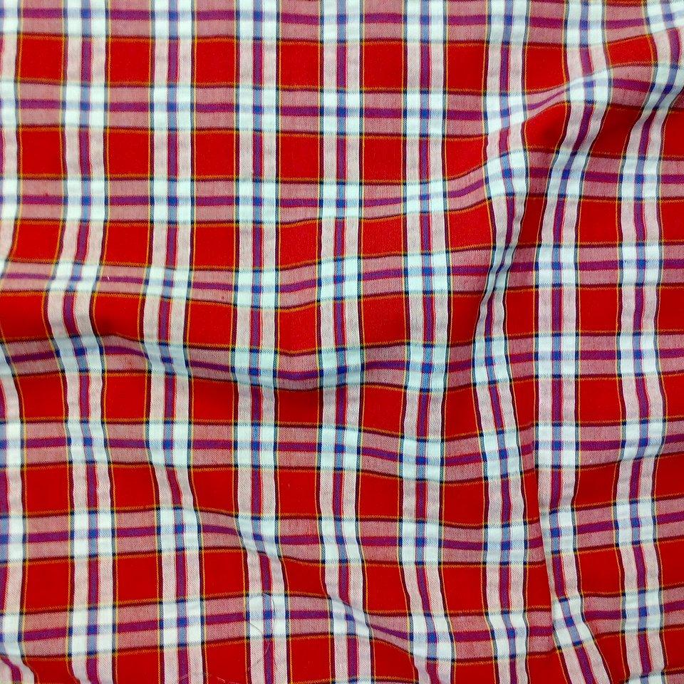 košilovina krep čer./bílá kostka