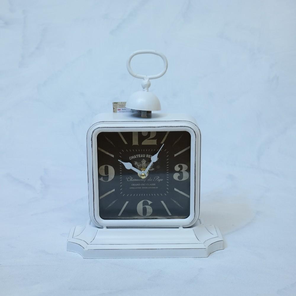 hodiny bílé-14x14cmdeco