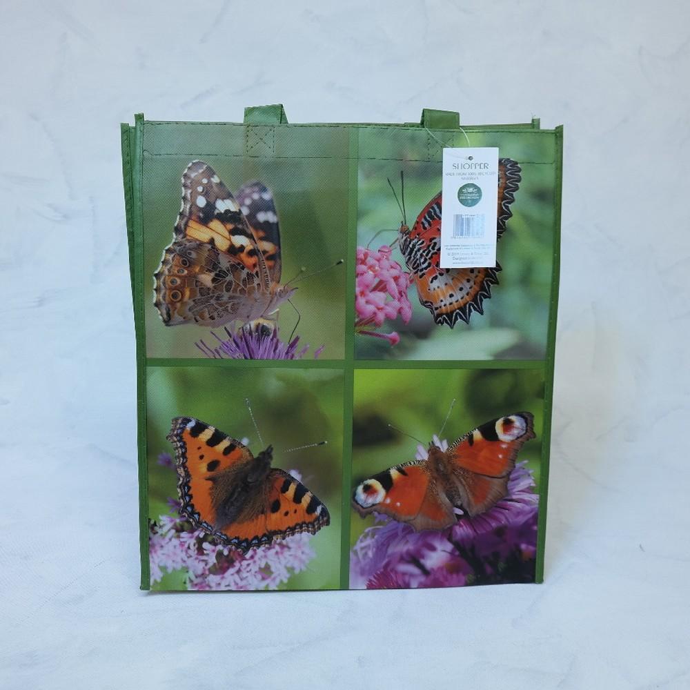 taška nákupní-motýl