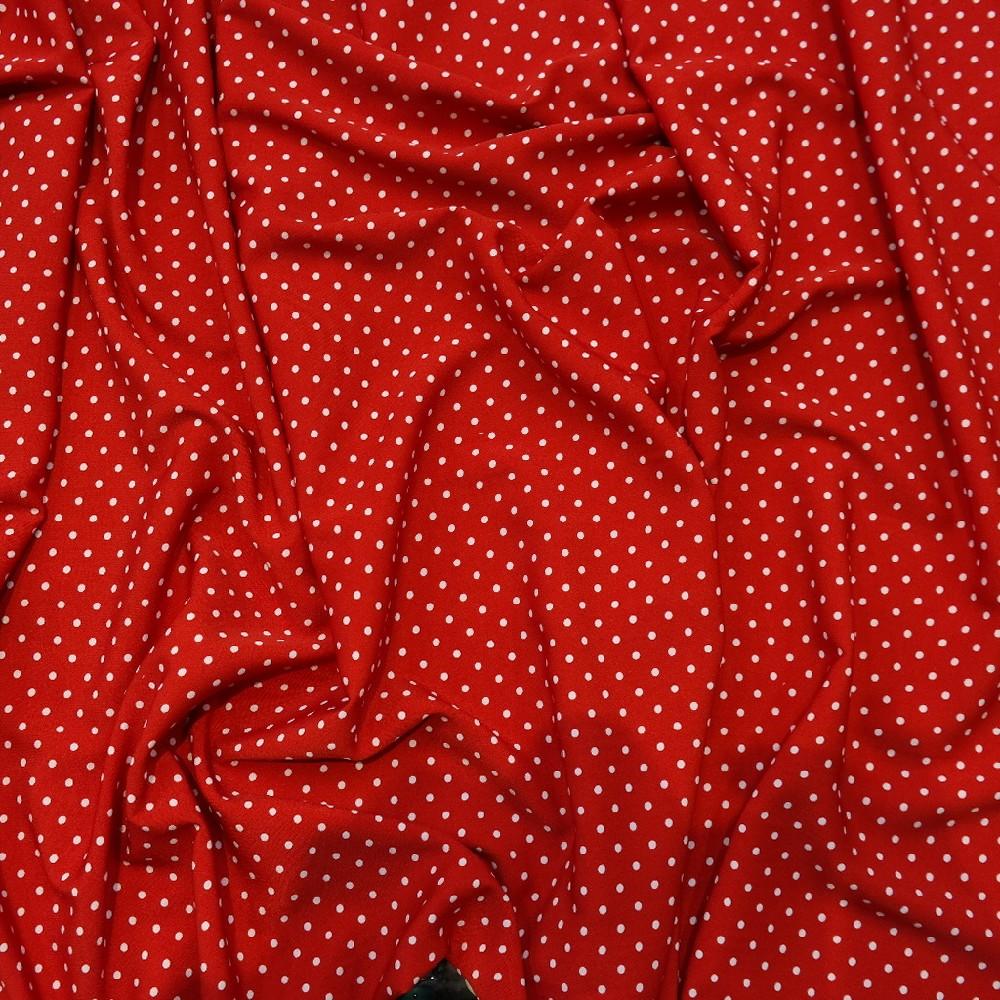 šatovka červený puntík