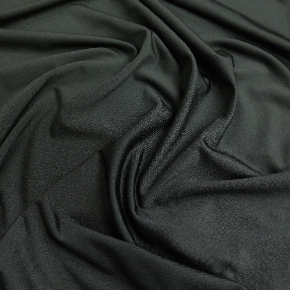 kostýmovka splývavá strečová černá